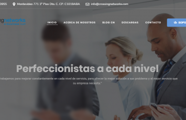Nueva web Crossing Networks S.R.L.